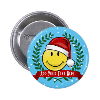 Classic Smiley Face Holiday Style 6 Cm Round Badge