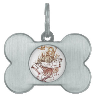 Classic-Style Set Pet ID Tags