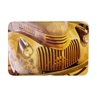 Classic Truck Front Grill and Headlight Bath Mat