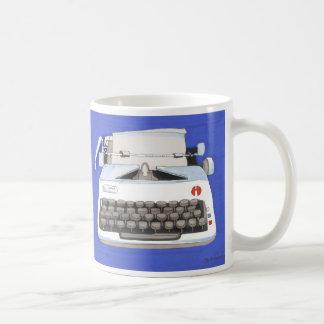 Classic Typewriter Basic White Mug