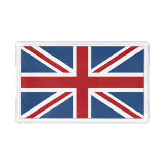 Classic Union Jack UK Flag Acrylic Tray
