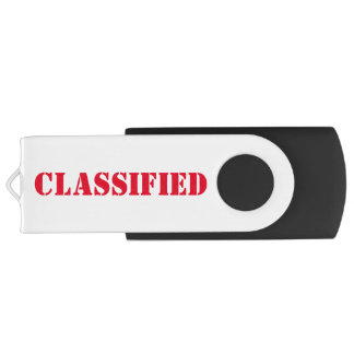 Classified USB 3.0 USB Flash Drive