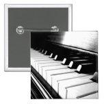 Classy Black & White Piano Photography Pins
