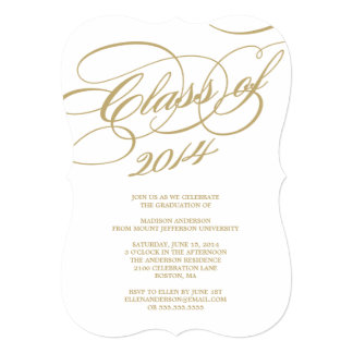 Classy Class of 2014 | Graduation Party Invitation