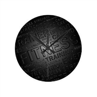 Classy Fitness Wall Clock