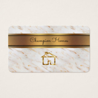 Classy Home Builder Business Card