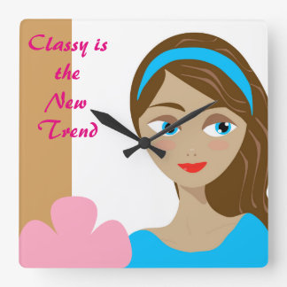 Classy is the new trend wall clock