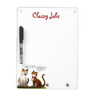 classy jobs white-board dry erase whiteboard