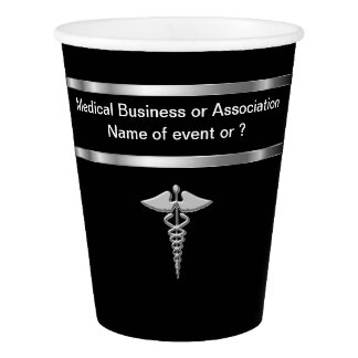 Classy Medical Theme Paper Cup