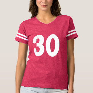 Classy Number 30 T-Shirt