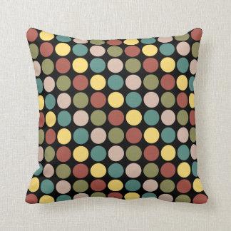 Classy Polka Dot Throw Pillows