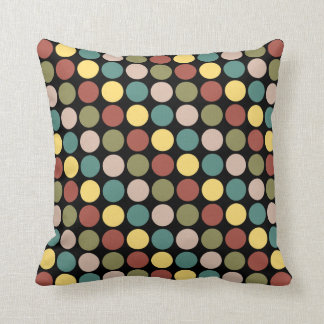 Classy Polka Dot Throw Cushion