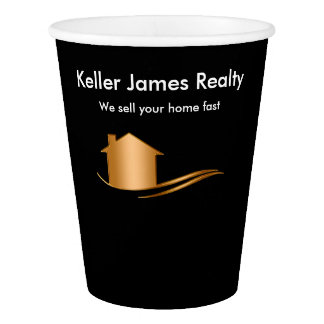 Classy Real Estate Coffee Cups