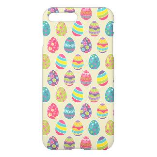 Classy Retro Easter Eggs Happy Easter Day iPhone 8 Plus/7 Plus Case