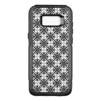 Classy Retro Vibe Geometric Pattern OtterBox Commuter Samsung Galaxy S8+ Case