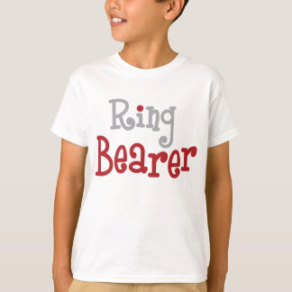 Classy Ring Bearer T-Shirt