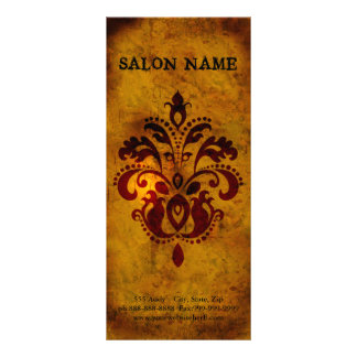 Classy Upscale Modern Business Full Colour Rack Card