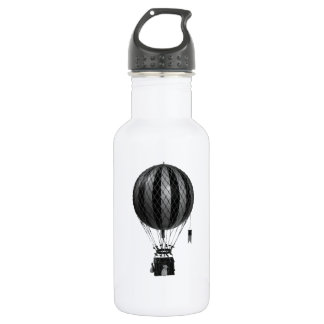 Classy vintage air balloon  choose color 532 ml water bottle