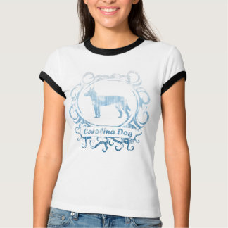 Classy Weathered Carolina Dog Ladies T-Shirt
