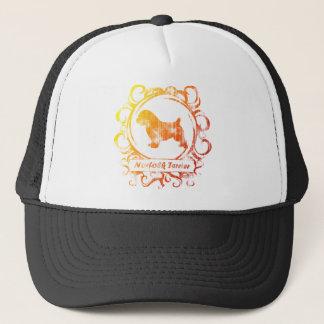 Classy Weathered Norfolk Terrier Trucker Hat