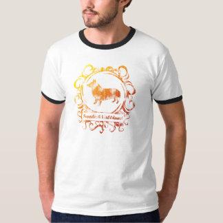 Classy Weathered Swedish Vallhund T-Shirt