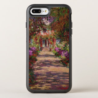 Claude Monet | A Pathway in Monet's Garden OtterBox Symmetry iPhone 8 Plus/7 Plus Case