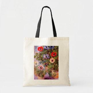 Claude Monet: Anemones Tote Bag