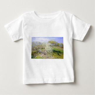 Claude Monet Apple Tree Baby T-Shirt