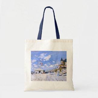Claude Monet: At the Beach of Trouville Tote Bag