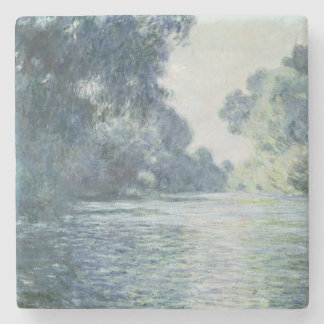 Claude Monet | Branch of the Seine near Giverny Stone Beverage Coaster