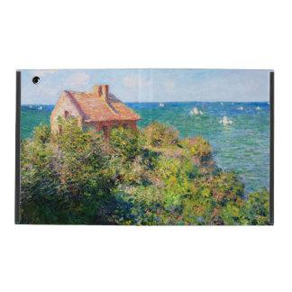 Claude Monet: Fishermans Cottage at Varengeville Case For iPad