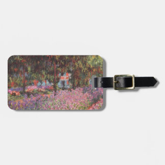 Claude Monet // Garden at Giverny Bag Tag