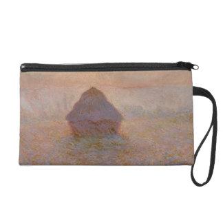 Claude Monet | Grainstack, Sun in the Mist Wristlet