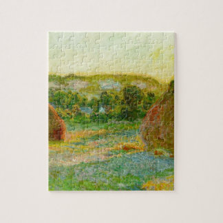 Claude Monet // Haystacks Jigsaw Puzzle
