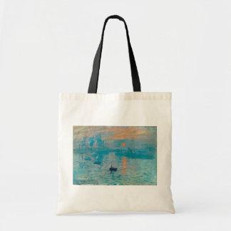CLAUDE MONET - Impression, sunrise 1872 Tote Bag