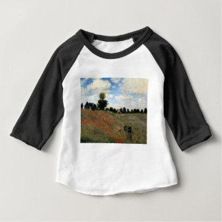 Claude Monet - Les Coquelicots Baby T-Shirt