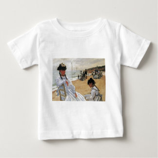 Claude Monet Mother and Child Mother's Day Card Baby T-Shirt