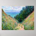 Claude Monet: Path at La Cavee Pourville Poster