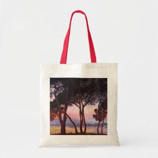 Claude Monet: Pines Tote Bag