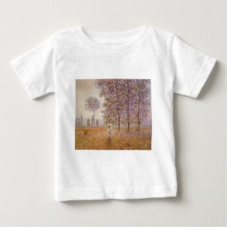 Claude Monet - Poplars in the Sun Baby T-Shirt