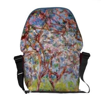 Claude Monet   Printemps a Giverny Messenger Bag