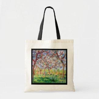 Claude Monet   Printemps a Giverny Tote Bag