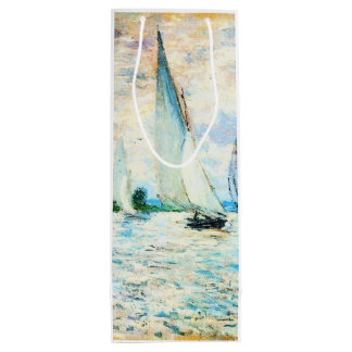 Claude Monet-Regatta at Argenteuil Wine Gift Bag