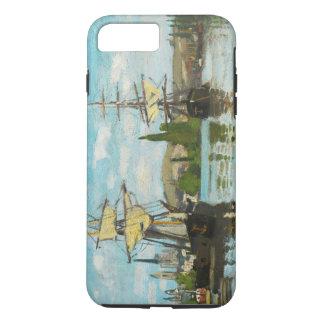 Claude Monet Ships Riding On The Seine At Rouen iPhone 8 Plus/7 Plus Case