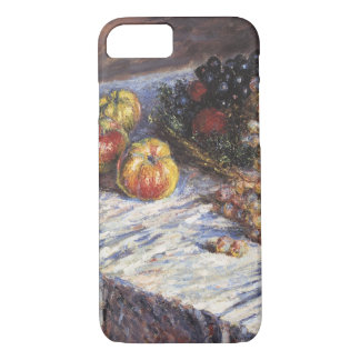 Claude Monet Still Life with Apples and Grapes iPhone 8/7 Case