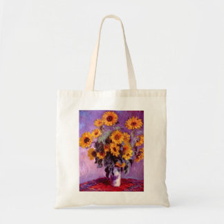 Claude Monet: Sunflowers Tote Bag