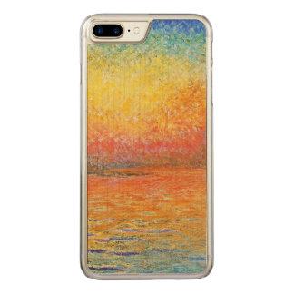 Claude Monet Sunset In Venice Impressionist Art Carved iPhone 8 Plus/7 Plus Case