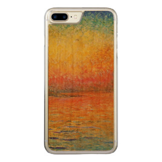 Claude Monet Sunset In Venice Impressionist Art Carved iPhone 8 Plus/7 Plus Case