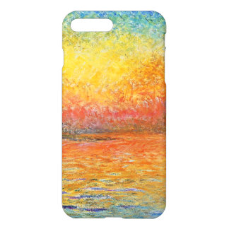 Claude Monet Sunset In Venice Impressionist Art iPhone 8 Plus/7 Plus Case