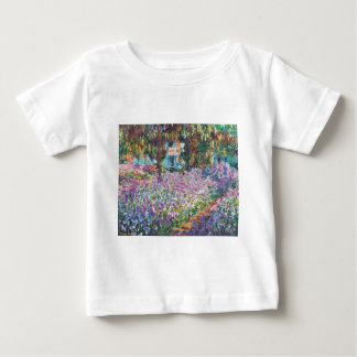 Claude Monet - The Artist's Garden at Givern Baby T-Shirt